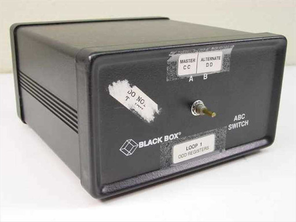Black Box SW023A-FFF Manual ABC Switch 25-Pin Parallel / Serial 1-to-2