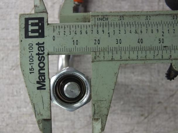 "CTI Cryogenics 8143073G009 9"" Pressurized Braided Cryogenic Cable M-M 5400-S5-4"