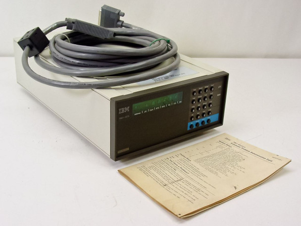 IBM 7861-025 External Modem 9600 Baud with Cables