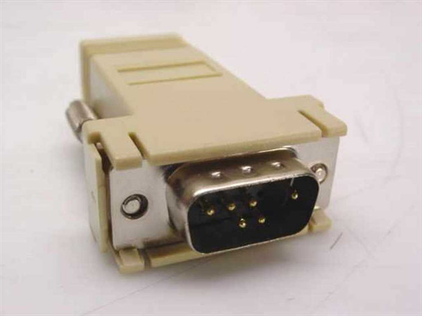 Generic 9 Pin Serial to 6 pin RJ11 Adapter (N/A)