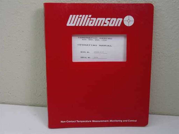 Williamson Tempmatic Series Operating Manual Model No. 4920S-C-T
