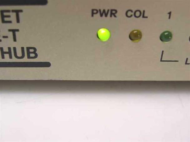 Generic Ethernet 10 Base-T EN-500 5-Port Hub- No AC adapter