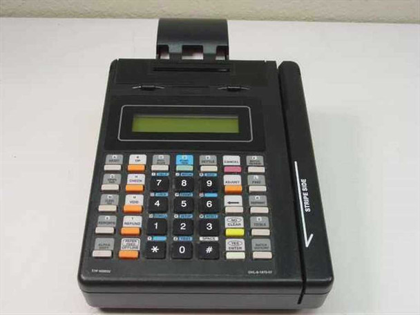 Hypercom T7P-T Credit Card Terminal with Printer - 010004-192 G - Issues - As Is