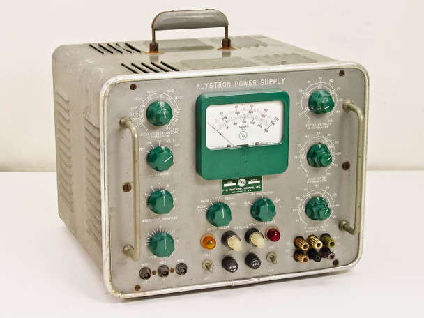 Klystron 2819B 0-1000 VDC High Voltage DC Power Supply