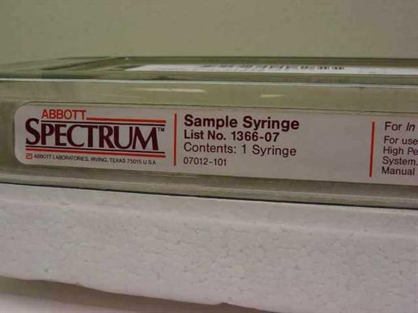 Abbott  Spectrum Reagent Syringe 1366-07