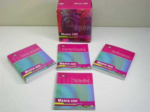 Media 100 Tutorial and User's Guide 2nd Edition August 1997 Digital Video System