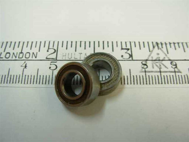 "Steel 1/4"" Bore Ball Bearing 1/4"" x 1/2"" x 3/16"""
