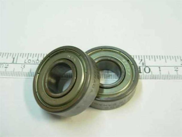 Steel Ball bearing 15 x 35 x 11 mm 22000 rpm (6202-2Z)
