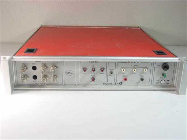 "STS Inc 19"" Rackmount - Satcom / Microwave / RF / Satellite (Equalizer)"