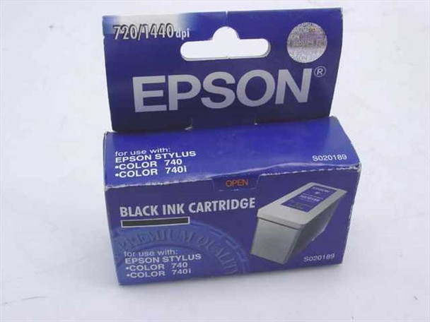 Epson Black Ink Cartridge for Epson Stylus Color 740, 74 (S020189)