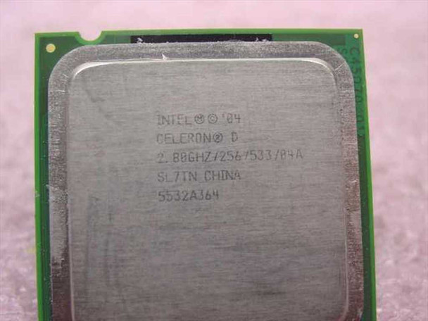 Intel 2.80 GHz Celeron Processor Socket 775 CPU (SL7TN)