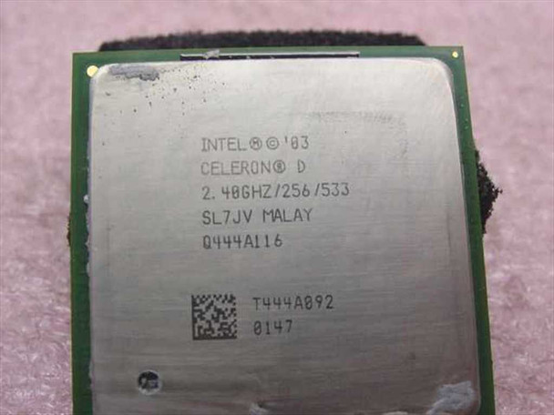 Intel SL7JV 2.40GHz Celeron D CPU Processor Socket 478 mPGA478B
