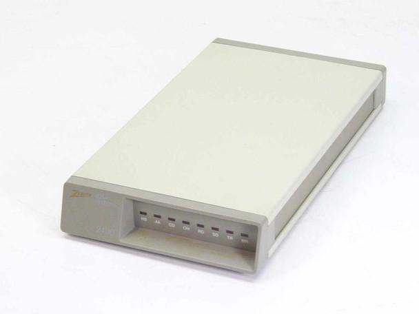 Zenith ZM2401 External 2400 Baud Modem ZM-2401 - VINTAGE - No AC Adapter