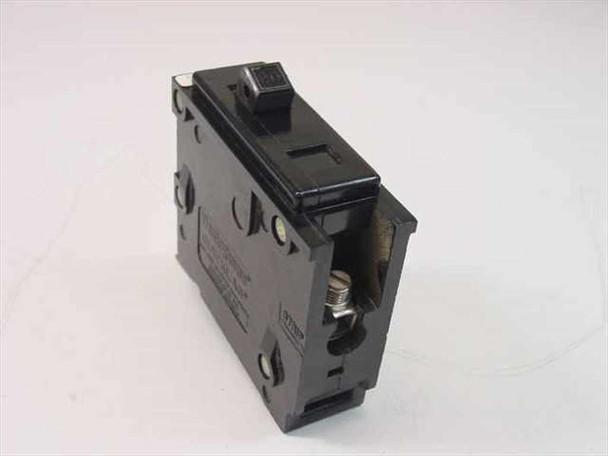 Westinghouse MJ-2239 Quicklag Type BA 1 Pole 20 Amp Circuit Breaker