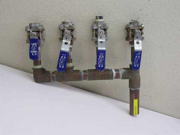 Custom 4 Valve Chill Water Manifold (N /A)