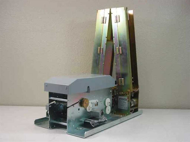 Evolis Pebble 2 Kiosk PVC ID Card Printer Full Color YMCKO-No Feed Rollers AS IS