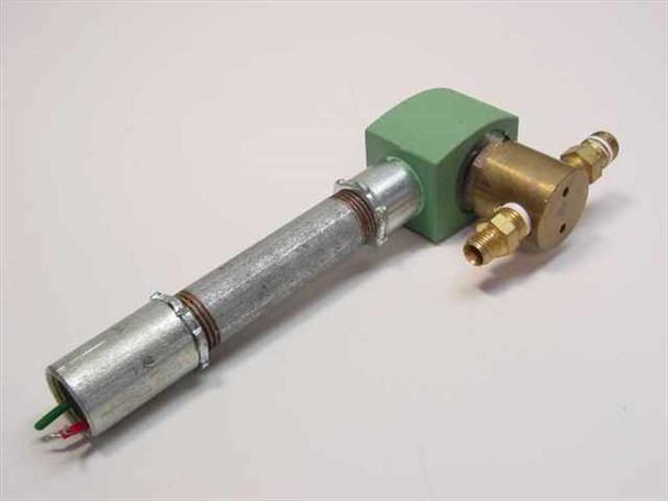 Asco Solenoid Valve 1/4 NPT Inlet/Outlet, 125PSI Max pressure, 24v (8262G20)