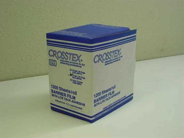 Crosstex Finger Lift Edge Blue Barrier Film-1200 Sheet Roll BFBL