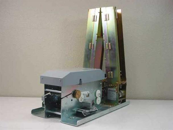Evolis PVC ID Card Printer 300 DPI 1000 Card Capacity No Printhead & Rollers Peb