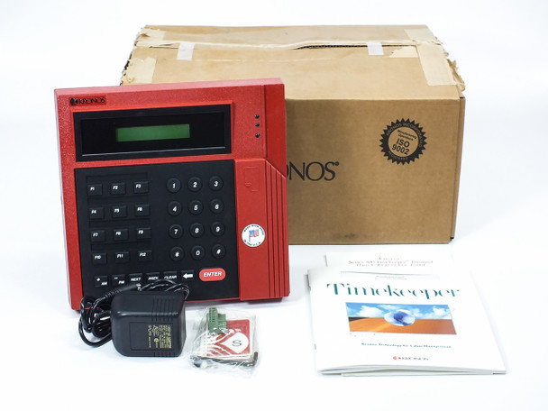 Kronos 8600615-001 460F Time Clock Terminal Package with Modem and Accessories