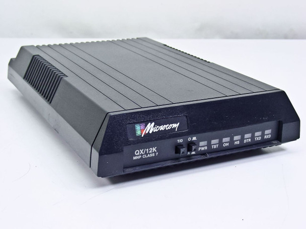 Microcom External Modem QX/12K