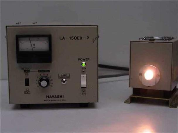 Nikon, Pulnix, Hayashi Microscope Camera with Fiber Optic BF/DF Illuminat LA-150