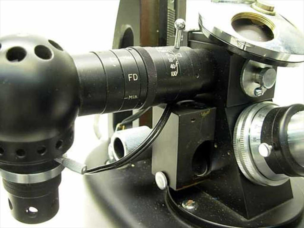 Metallurgical Vintage Microscope with Camera Port (MeC-3659)