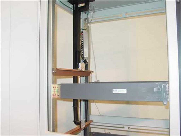 "Varian / Berger VZC 19"" RackMount Cabinet w/ Waveguides & RF Conne 01015230"