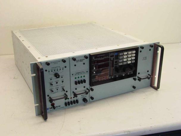 Microdyne 1400 MRA Telemetry Receiver-1451-D, 1420 IF Filter Amp 1411-V RF Tuner