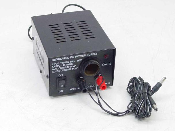 Generic Regulated 12VDC Cigarette Lighter Power Supply PHC-412J