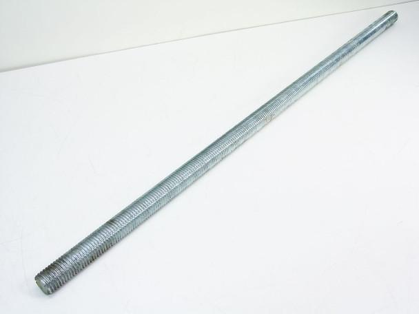 "Rod All Thread Galvanized 1-1/8"" Diameter 7 TPI - Multi Length: 27"" ~ 44"" Long"