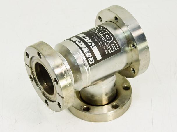 MDC Vacuum Angle T Flange (AV-150)