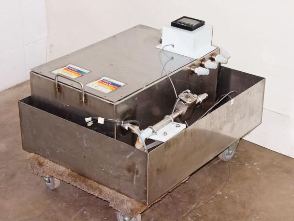 Signet P525-1 Sensor in PSR Washing Tank with 3-5100 Metalex Flow Meter