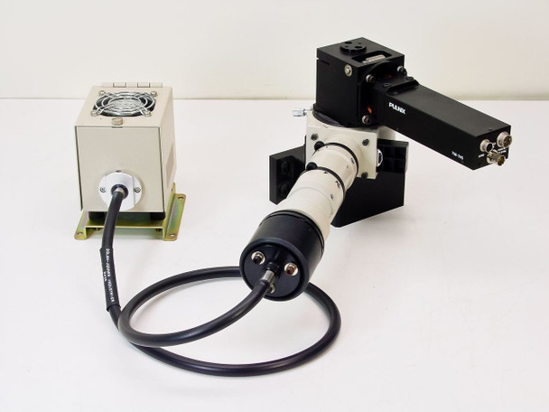 Nikon  Microscope Camera & Fiber Optic Light with Pulnix TM-745