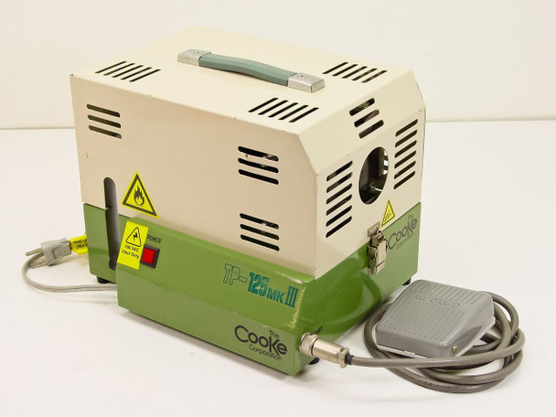 Cooke / Tokki TP-125mk3 Automatic Fiber Optic Cleaner with Foot Pedal