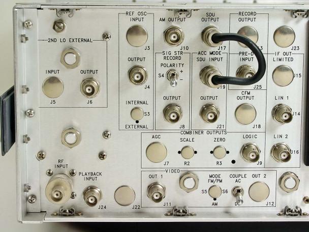 Microdyne Telemetry Receiver 105-316-81 120vac input (1400-MR)