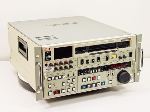 BTS BCB 70N BetaCam SP NTSC Video Cassette Recorder Player