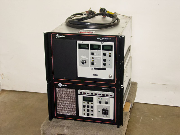 Varian VZC-6965F7 700W C-Band & TWTA Power Supply Matched Set w/ 01008290-00)