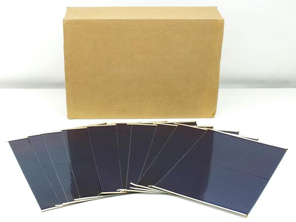 Uni-Solar Finished L-Strip DIY Flexible Solar Cells 7.5W 1.6V - Box of 100 Total