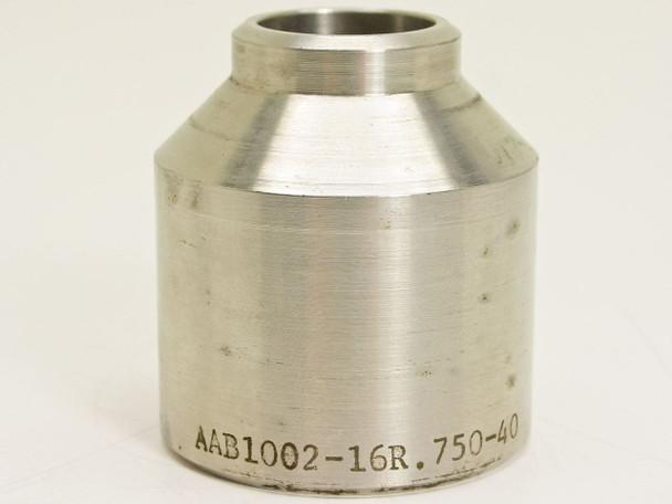 "A.N. Fittings Reducer Chrome 1.000"" x 0.750"" AAB1002-16R.750-40"