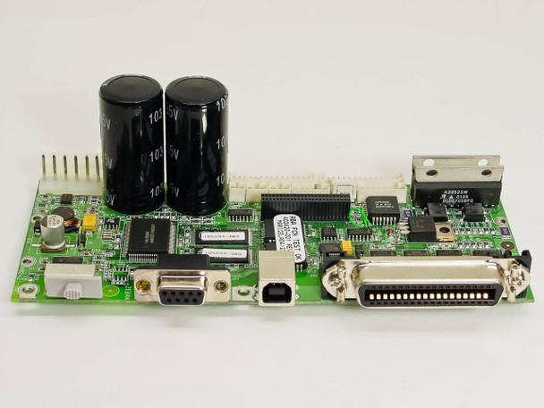Zebra 402420-001 Printer Motherboard Module w/ Head and Stepper Motor Connectors