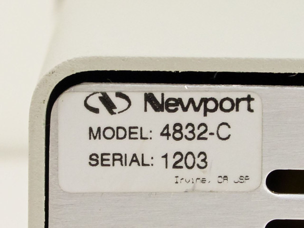 Newport Multi Channel Optical Power Meter (4832-C)