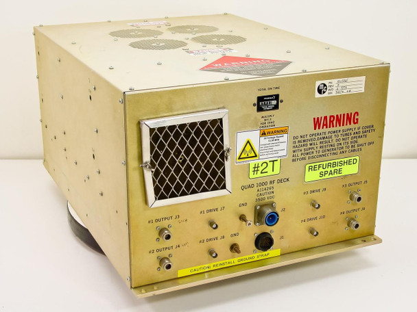 MRC Quad 1000 RF Deck Sputter Power Supply 3500 VDC A114265