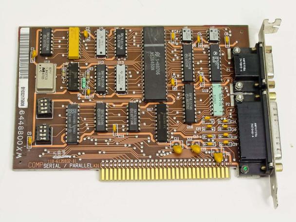 IBM 6448800XM 8-Bit ISA Serial Parallel Adapter Card 6135932