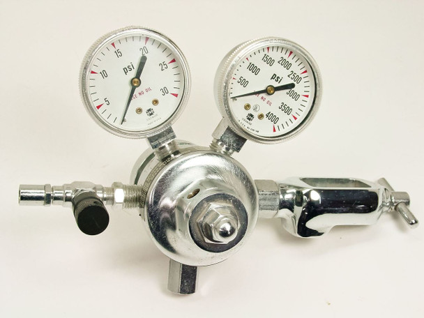 Corning  21,000 KPA Valve w/ Gauges. N2,CO2, & O2 47742