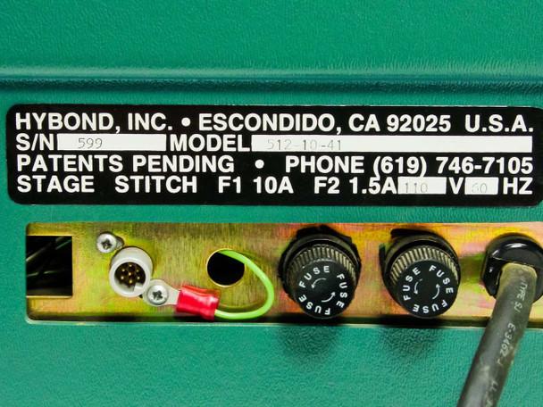 Hybond Manual Ball Bonder No Scope 512-10-41