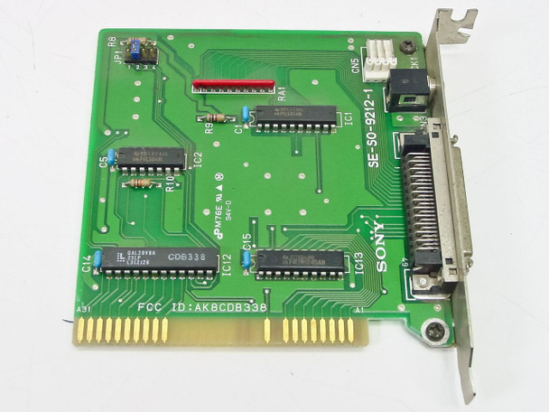 Sony  8 Bit ISA Interface Card for Proprietary CD Rom Drive SE-SO-9212-1