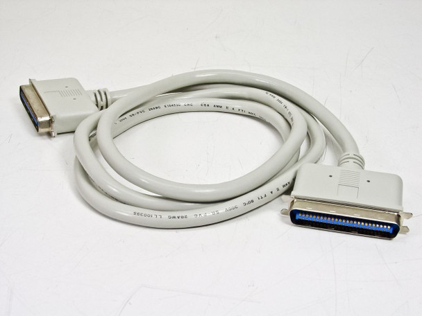 AWM 50-Pin SCSI M-M Centronics 5 Foot Cable (2464)