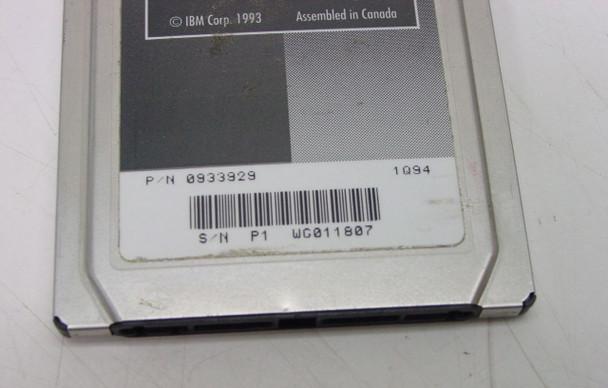 IBM PCMCIA Token Ring 16/4 Card 0933929
