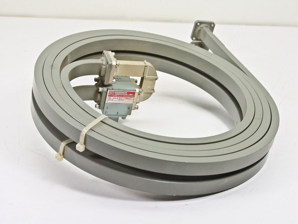 Micro-Coax 1001/998 WaveGuide Delay Line Ku Band 12.4~18.0GHz w/ MA K220 C